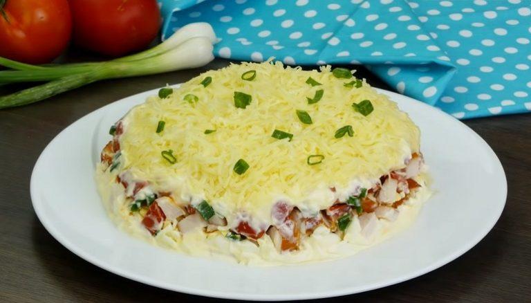 Куриный салат «Минутка»